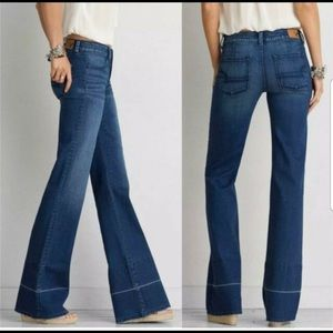 American Eagle A-line Jeans
